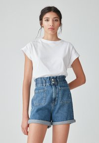 PULL&BEAR - Denim shorts - blue - 3