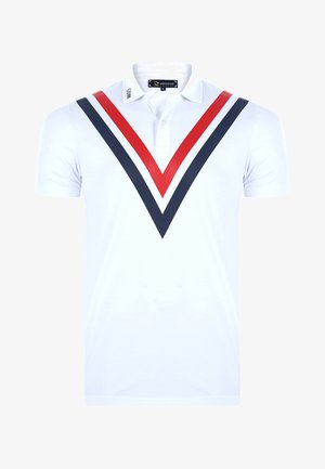 MEN'S POLO SHIRT SHORT SLEEVE - Polo shirt - white