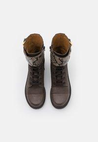 See by Chloé - MALLORY LACE UP - Šněrovací kotníkové boty - medium brown - 4