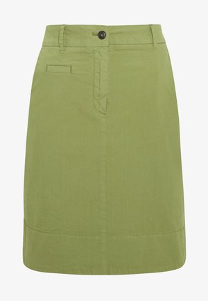 SKIRT CHINO STYLE SHORT LENGTH - Falda acampanada - seaweed green