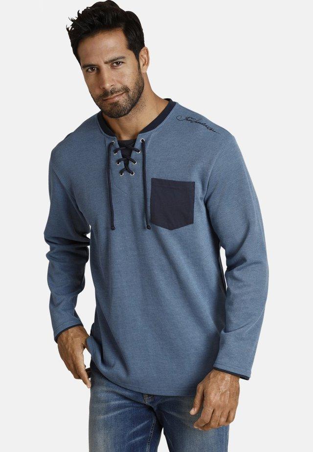 TERRACNE - T-shirt à manches longues - blau