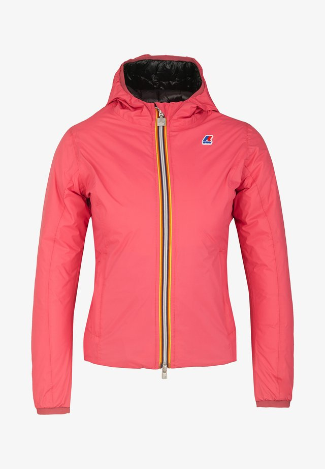 LILY  - Down jacket - red claret-black pure