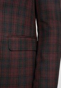 Burton Menswear London - TARTAN - Colbert - red - 5