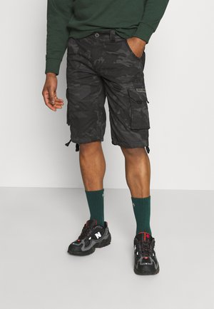 JET CAMO - Shorts - black