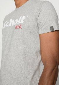 Schott - LOGO 2 PACK - Print T-shirt - navy/grey - 5
