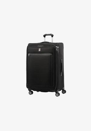 Wheeled suitcase - shadow black