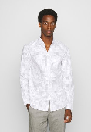ALLOVER PRINTED STRETCH SHIRT - Camicia - white