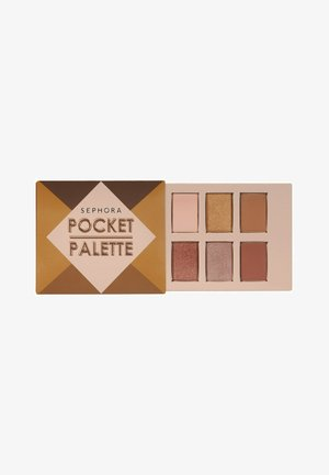 POCKET PALETTE - MINI PALETTE MIT 6 LIDSCHATTEN - Eye shadow - WARM BROWN