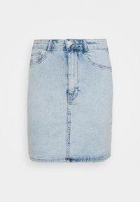 MOLLY SKIRT - Denim skirt - blue