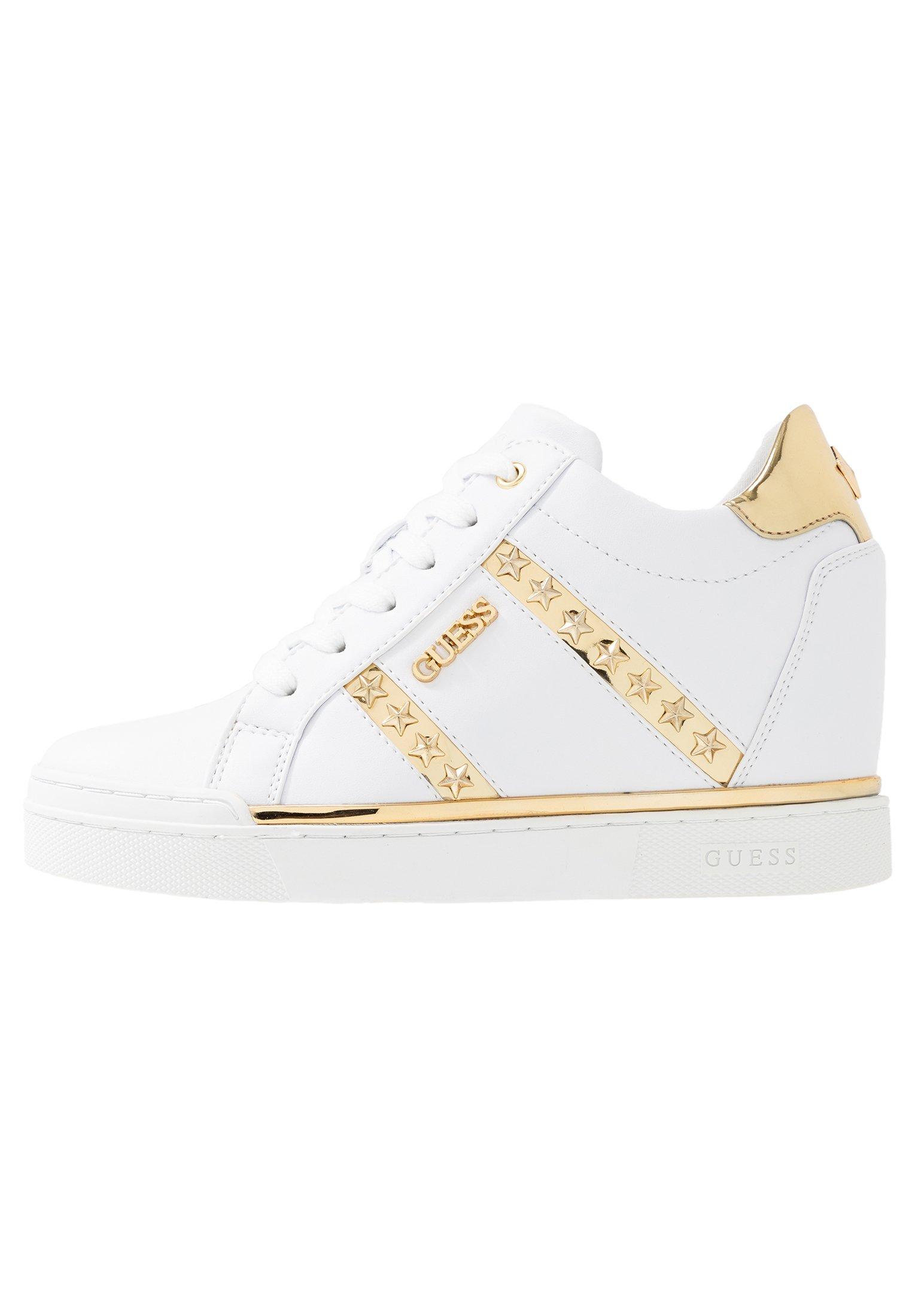 FAYNE Sneakers basse whitegold