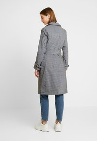 Superdry - EDIT REFLECK CAR COAT - Trench - silver