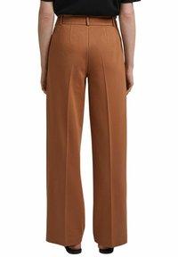 Esprit Collection - SOFT PUNTO - Trousers - caramel - 7