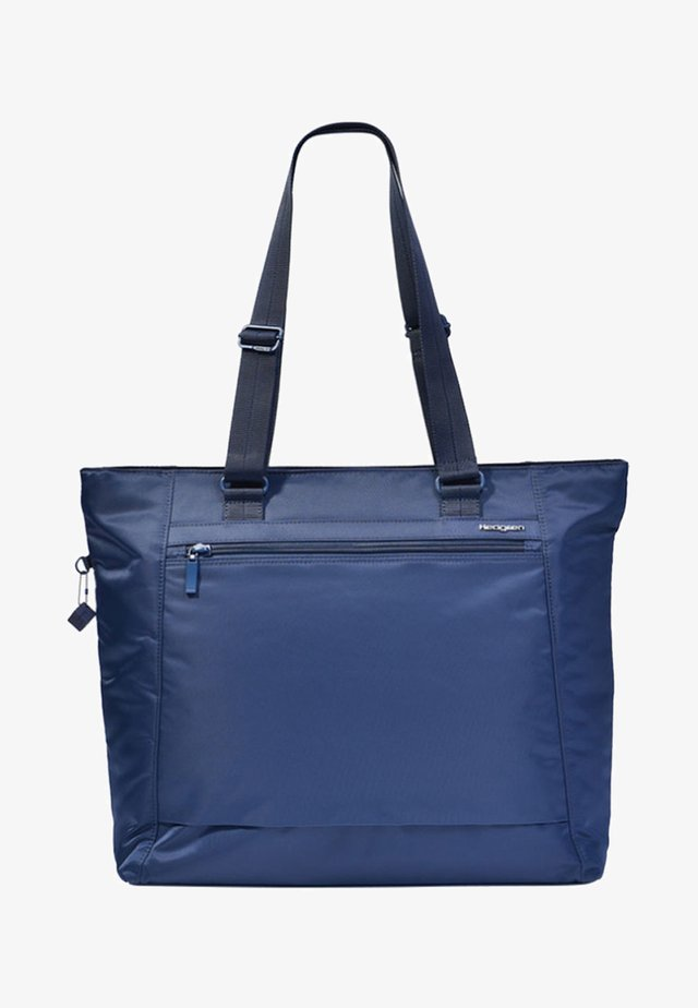 ELVIRA - Tote bag - blue