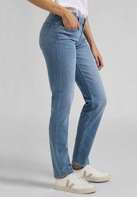 Lee - MARION  - Straight leg jeans - light blue - 3