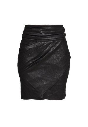 WAKA - Mini skirt - black