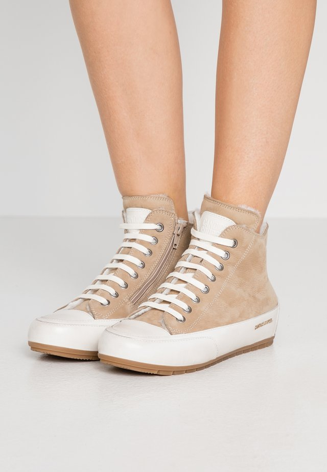 PLUS - High-top trainers - panna