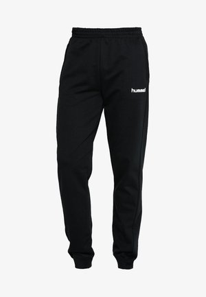 HMLGO COTTON PANT - Tracksuit bottoms - black