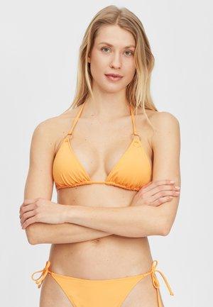 Bikini top - blazing orange
