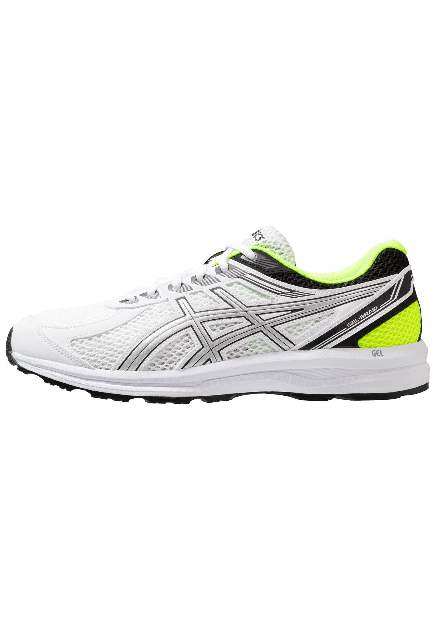 GEL-BRAID - Zapatillas de running neutras - real white/silver