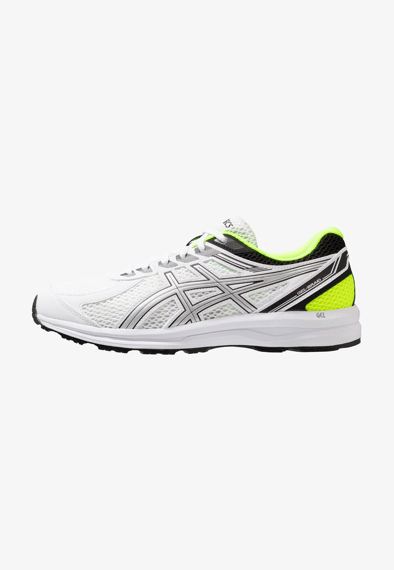 ASICS - GEL-BRAID - Neutral running shoes - real white/silver