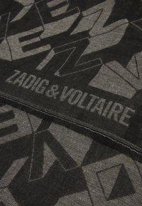 Zadig & Voltaire - HOLBORN UNISEX - Foulard - noir - 2