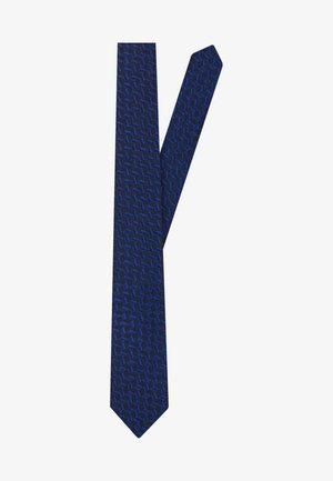 Krawat - mittelblau
