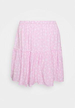PAMELA REIF FRILL SKIRT - A-line skirt - pink