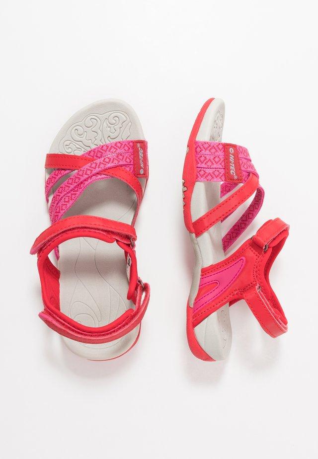 SAVANNA II - Walking sandals - pink