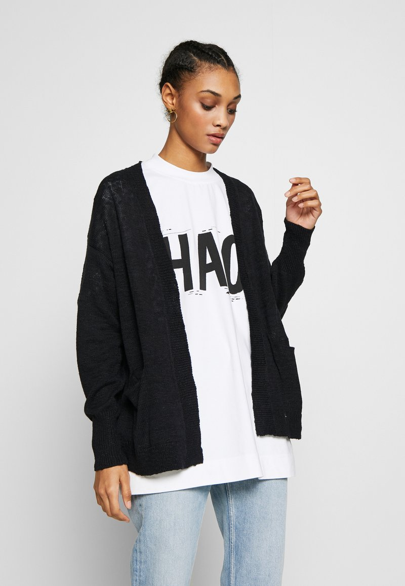 Roxy - VALLEY SHADES - Cardigan - anthracite