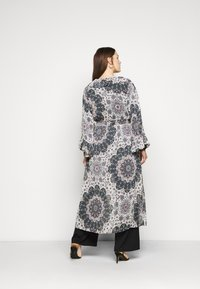 Simply Be - RUFFLE FRONT KIMONO - Day dress - multi-coloured - 2
