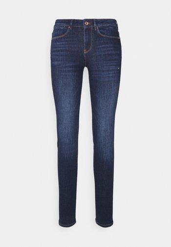 MID - Slim fit jeans - dark-blue denim