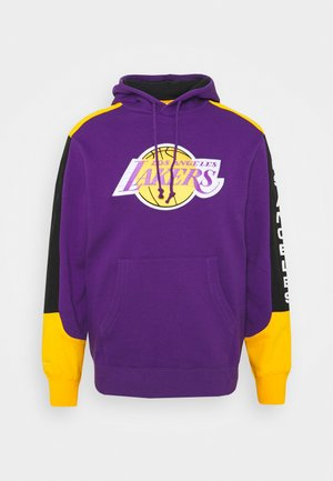NBA LOS ANGELES LAKERS FUSION HOODY - Sweat à capuche - purple