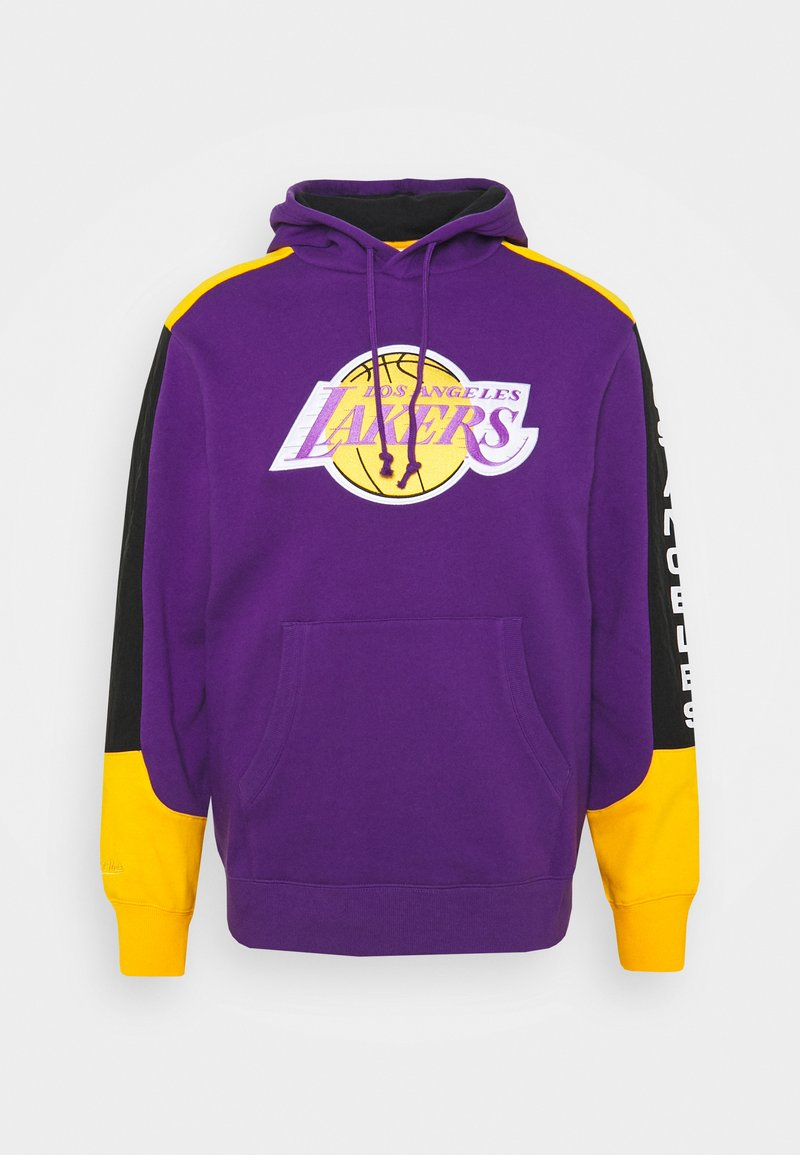 Mitchell & Ness - NBA LOS ANGELES LAKERS FUSION HOODY - Sweat à capuche - purple