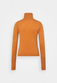 FTC Cashmere - ROLLNECK - Jumper - rust orange - 1