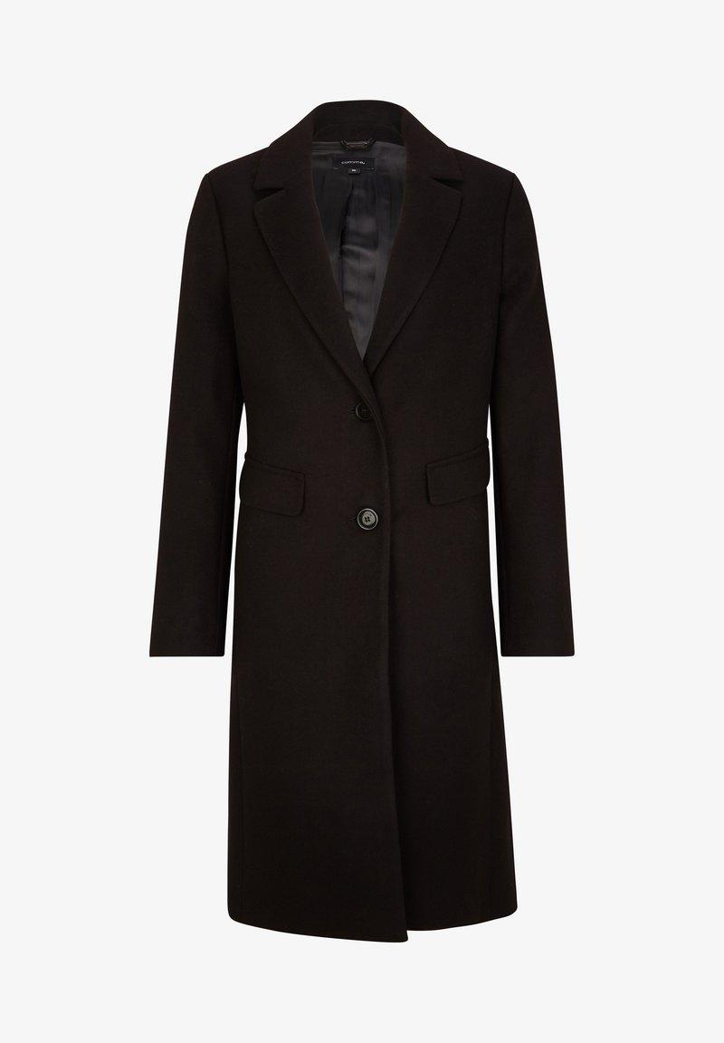 comma - MIT COSY TOUCH - Short coat - black