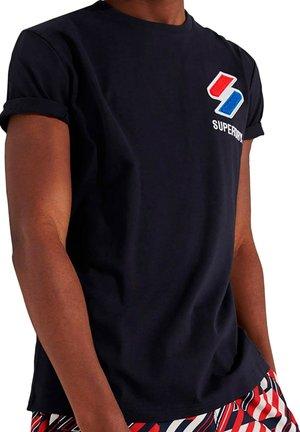 T-shirt print - jke marine foncé