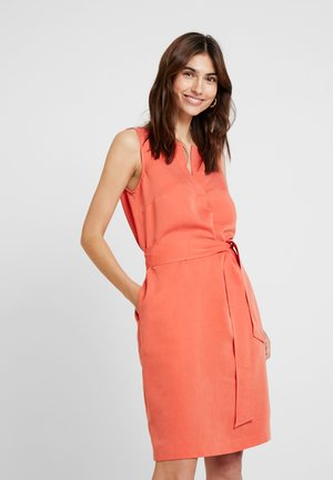 Vestido informal - sunset orange
