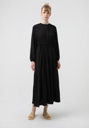 SHIRRED AEROBIN - Day dress - black
