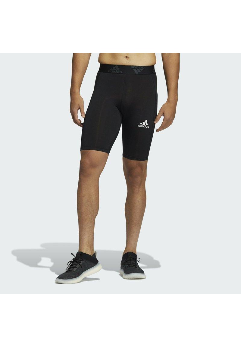adidas Performance - TF SHO TIGHT - Leggings - black