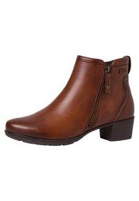 Jana - STIEFELETTE - Ankle boots - hazelnut - 3