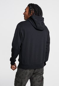 Nike Sportswear - CLUB HOODIE - Zip-up hoodie - black/black/white - 2