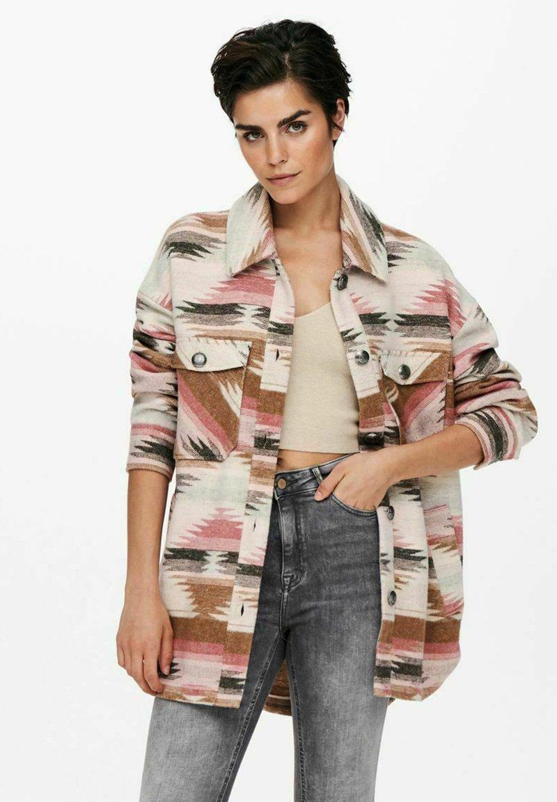 ONLY - Summer jacket - eggnog
