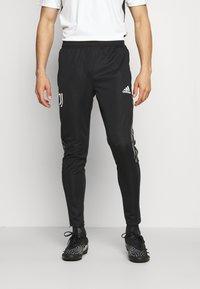 adidas Performance - JUVENTUS TURIN PANT - Klubbkläder - black - 0