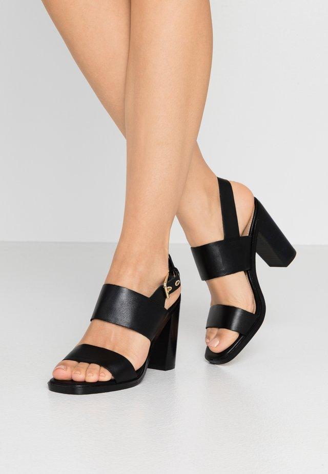 FIELIA - Højhælede sandaletter / Højhælede sandaler - black