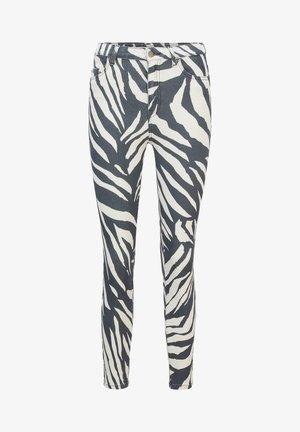 Jeans Skinny Fit - light grey, white