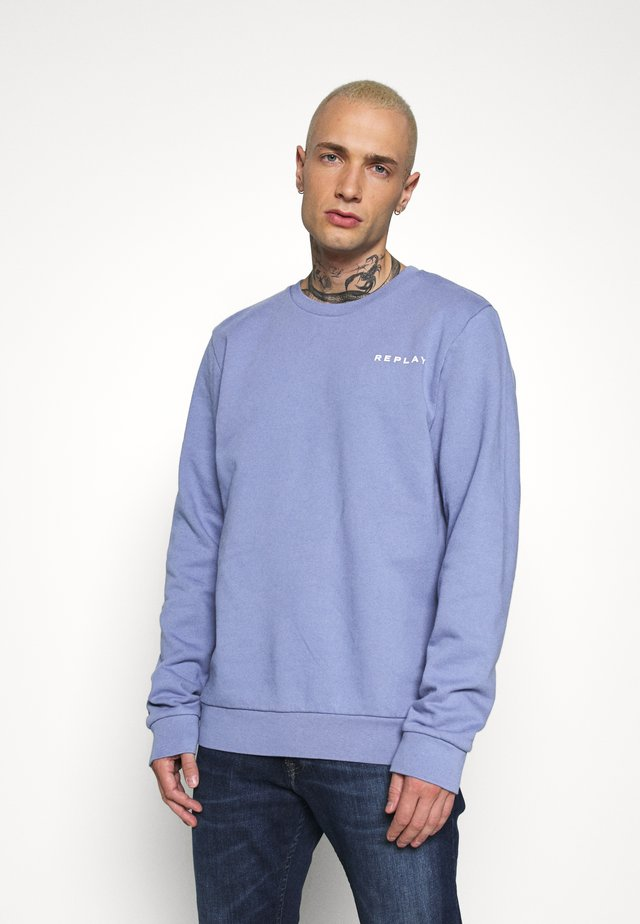 CREW NECK - Collegepaita - light blue