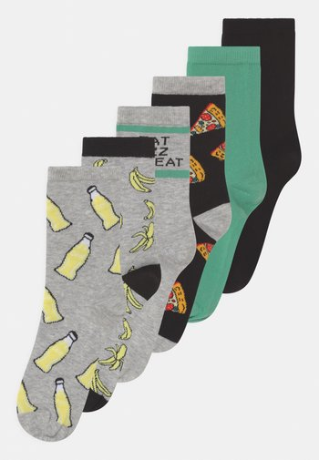 NKMFALO 6 PACK - Socks - light grey melange
