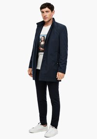 s.Oliver BLACK LABEL - Short coat - dark blue - 1
