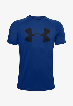 Tech Big Logo - Print T-shirt - royal blue