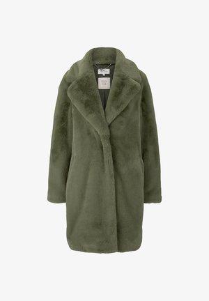 Winter coat - greyish green